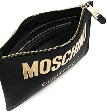 Moschino Luxury Fashion Donna B840782051555 Nero Poliestere Pochette | Primavera-estate 20