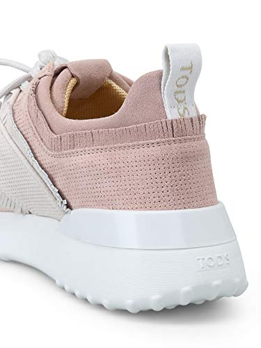 Camoscio Rosa Tod's Xxw80a0w600k101y36 Sneakers Donna wqRxgt