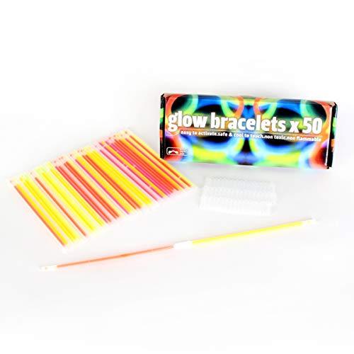 FoxPrint PartySticks Glow Sticks Bulk
