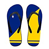 Flag Of Tokelau Comfortable Flip Flops For Children Adults Men And Women Beach Sandals Pool Party Slippers