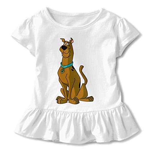 (MyLoire Scooby-Doo Toddler Girls' T Shirt Cotton Basic Outfit Tee)
