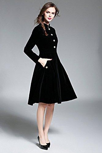 Cystyle - Vestido - trapecio - para mujer
