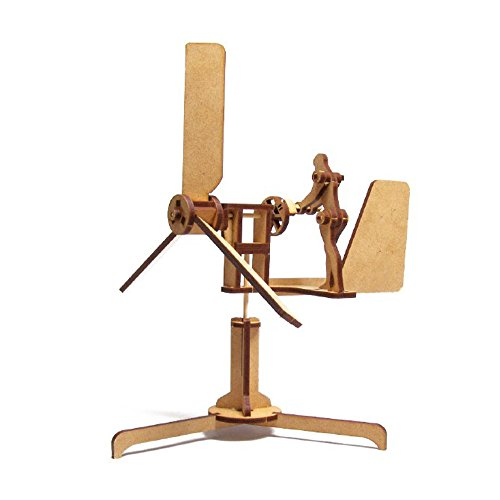 Cheap  Mize Wooden Automata Wood Whirligigs Wind Assembly kits Mechanical Puzzles for Kids..