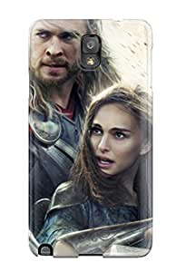 Awesome Design Thor The Dark World Movie Wide Hard Case Cover For Galaxy Note 3
