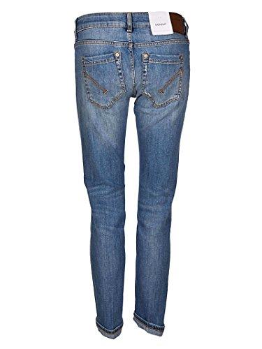 Jeans P692DS146DR09TDHI800 Coton Bleu DONDUP Femme waBv5qxvIn