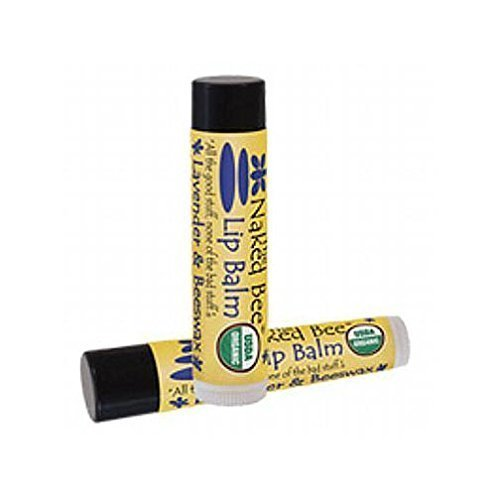The Naked Bee - Lip Balm Lavender & Beeswax Absolute Set of 6