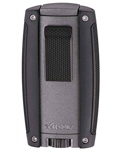 Xikar Turismo Cigar Lighter - Matte Gray