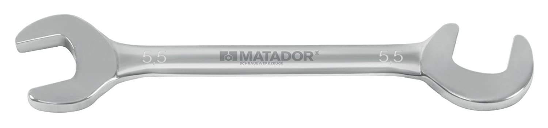 5 x 5,5 mm Matador 0145 0055 Mini-Doppelmaulschl/üssel