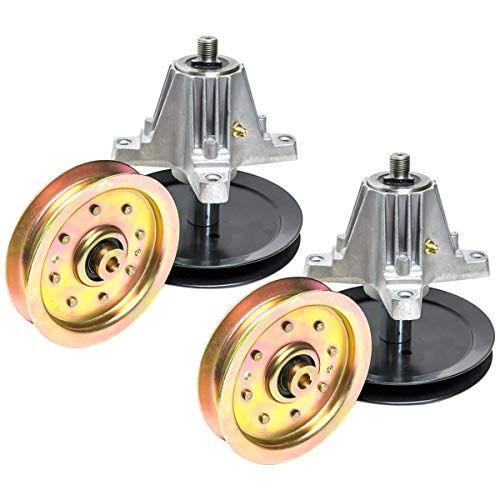 (Replaces Cub Cadet (2) MTD Spindle Pulley Assembly Kit 618-04636 618-04636A 618-04865A 918-04636A)