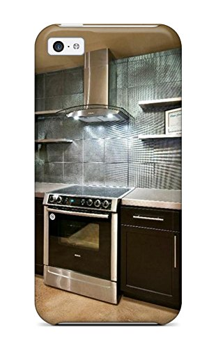 Protector absorbent kitchen metallic metallic backsplash us708 - Stove backsplash protector ...