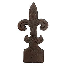 Privilege 66904 Ceramic Transitional Finial, Rustic, Medium