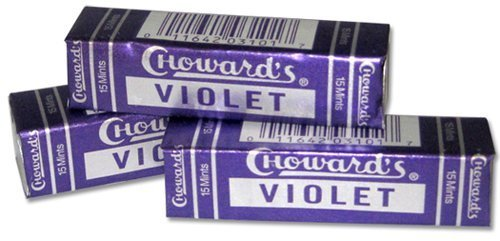 3 Pack Chowards Violet Mints – C Howard's Old Fashion Mints 3 Pack – Nostalgia Candy