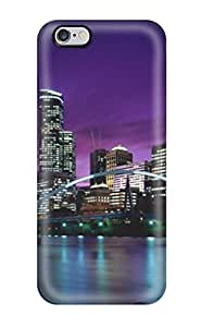 HermanLWilliams Perfect Tpu Case For Iphone 6 Plus/ Anti-scratch Protector Case (city) WANGJING JINDA