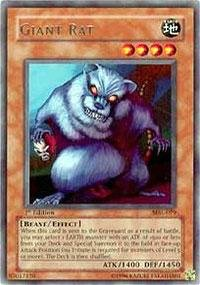 Yu-Gi-Oh! - Giant Rat (MRL-079) - Magic Ruler - 1st Edition - Rare