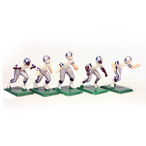 Tudor Games 3-11-W NFL Away Jersey - Dallas Cowboys Alternate Uniform 11 Electric Football Players, Multicolor (Pack of 11)