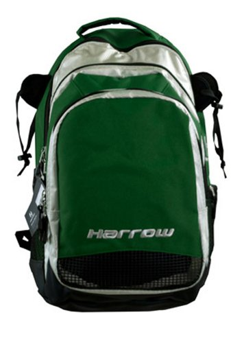 Harrow Elite Backpack, (Silver Sticks Hockey)