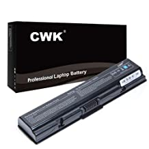 CWK® New Replacement Laptop Notebook Battery for Toshiba Satellite Pro L550 L450 L300D L300 A300D A300 A210 A200 Toshiba Satellite M208 M209 M211 M212 M215 M216 PA3534U-1BAS PA3533U L555 L555D M205 M202 M203 M206 M207 L203 L205 L305 L505-S5982 L505-S5984 L505-S5988 L505-S5990 L505-S5969 L505-S6946 L505-S6951 L550-113 L300-S00 L305D-S5890 L305D-S5893 L305D-S5895 S5897 A505-S6984 A505-S6985 A505-S6986 A505-S6989 Toshiba Satellite A350D A355D A505 L500 PA3727U-1BRS PA3682U-1BRS