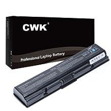 CWK® New Laptop Battery for Toshiba Satellite A350 A350D L550 L555D L500D L555 L505D L505 L500; Fits PA3534U-1BRS PA3534U-1BAS PA3534U [Li-ion 6-cell 5200mAh (4400mAh compatible)]