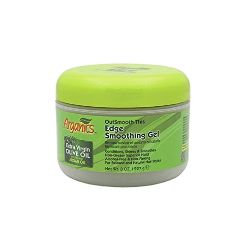 Arganics Outsmooth This Edge Smoothing Gel, 8 Ounce