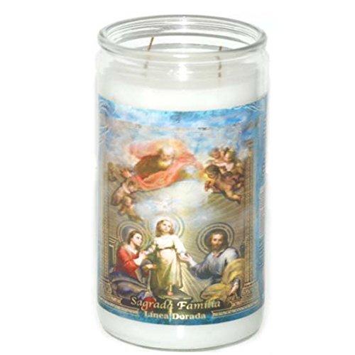 14Days Scented Candle Sgda Familia, Case of 6