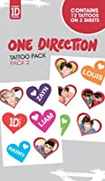 One Direction - Tattoo Sticker Pack 2