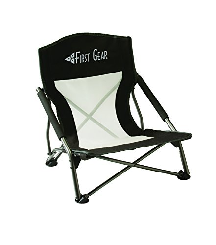 Texsport First Gear Low Profile Fold Up Beach Outdoor Chair