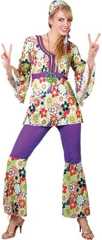 Hippie Peace Necklace Hippy 60s 70s Mod Retro Vintage Classic Fancy Dress Cospla