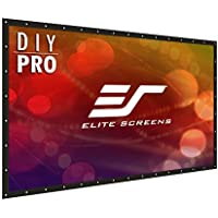 Elite Screens DIY Pro, 133-inch 16:9, Professional Portable Do-It-Yourself Indoor Outdoor Projection Projector Screen, DIY133H1