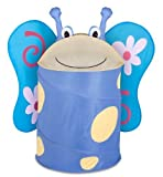Honey-Can-Do HMP-02059 Kid's Pop-Up Hamper, Butterfly, Large by Honey Can Do HK Limited