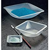 Plastic Square Weigh Boats Large Dish 100pk