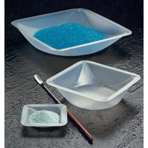 Plastic Square Weigh Boats Large Dish 100pk by Scientific Equipment of Houston