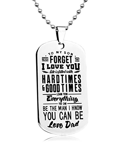 BASIC-HOUSE-Dad-to-Son-Boys-Necklace-Personalized-Custom-Military-Dogtags-Jewelry-Dog-Tag-QA053
