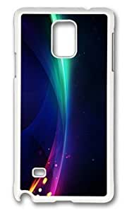 Adorable abstract art color of the nature hot and cold Hard Case Protective Shell Cell Phone Iphone 4/4S - PC White