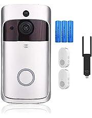 V5 Smart WiFi Video Deurbel Camera Visuele Intercom Met Chime Nachtzicht IP Deurbel Draadloze Home Security Camera
