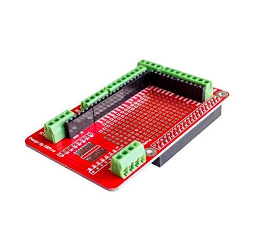 Zamtac 10 pcs Prototyping Expansion Shield Board for Raspberry Pi 2 Board B and Raspberry Pi 3 Board B