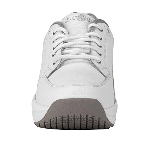 Slip White Enclosed CoiL Legend Shoe Z Resistant Relief Footwear White Pain CoiL Leather Tennis Women's 4gyYH