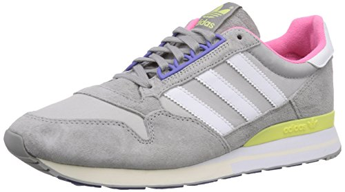 White Basses Solid Femme 500 Yellow mgh Gris Sneakers Originals ftwr Adidas st Zx blush Grey S15 IxP8wUnq4