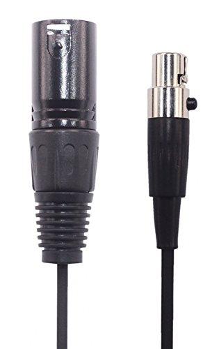 TXM-mi1 3 Pin Male XLR Plug to 3 Socket Female Mini XLR Cable, OFC Wire, TXM-mi1 (2M(6.5ft))