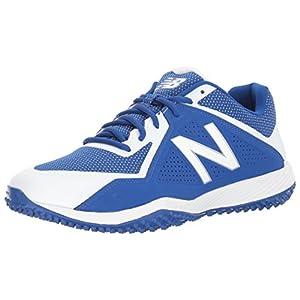 New Balance Men's T4040v4 Turf Baseball Shoe, Royal/White, 11.5 D US