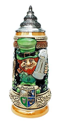 - Ireland Leprechaun German Beer Stein by King werk