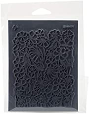 "Lisa Pavelka Individual Texture Stamp 4.25""X5.5""-Bloomin'"