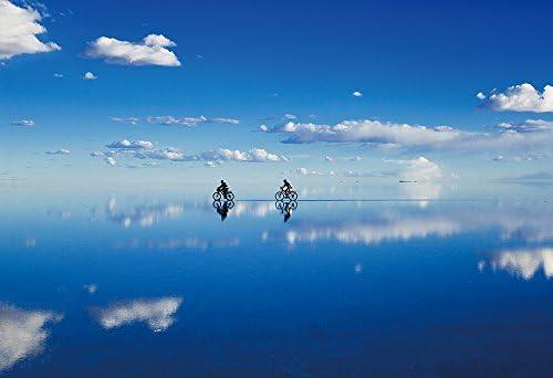 300ピース ジグソーパズル めざせ!パズルの達人 世界の絶景 奇跡の湖 ウユニ塩湖-ボリビア(26x38cm)