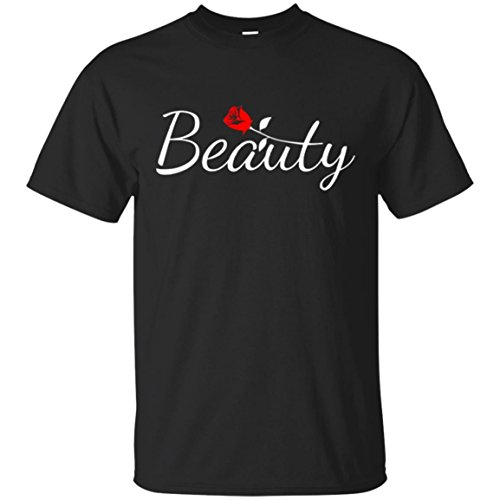 Kingdom Creations Beauty and Beast Matching Couples T-Shirt, Unisex, S-6XL, - Cheapest Day Shipping Next