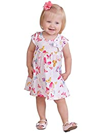 Baby Girl Infants Tropical Style Short Dress