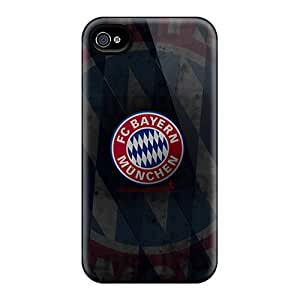 Shock Absorbent Hard Phone Cases For Iphone 6 With Customized Attractive Bayern Munich Pictures MansourMurray