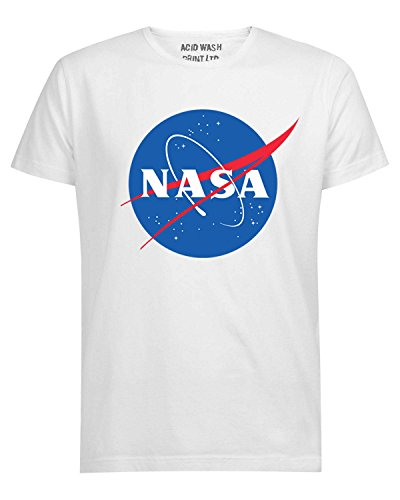 Logo Explorer Space T Nebula Acid Ltd shirt Wash Multicolore Nasa Print wIxY6xX