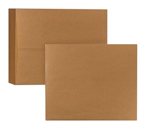 (Bong 04099335X-Ray Film Kraft Paper Gummed Flap 370x 450mm 120g Pack of 250Brown)