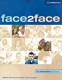 Face2face Pre-Intermediate with Key, Nicholas Tims, 0521613973