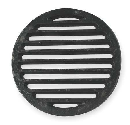 Industrial Grade 1PPF3 Shower Drain Grid, Pipe Dia 6 In, (Cast Iron Drain Pipe)