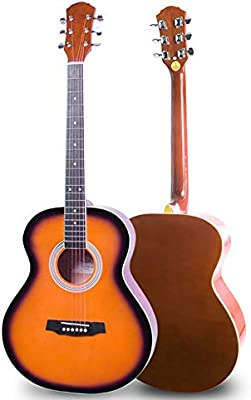 BAIYING-Guitarra Acústica Principiante Guitarra Clásica Sonido ...